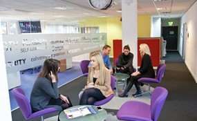 staff group informal office space