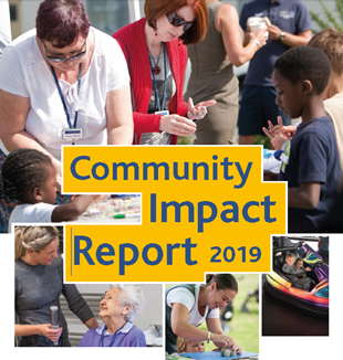 Cover page of our social impact report