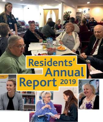 Cover page of residents annual report